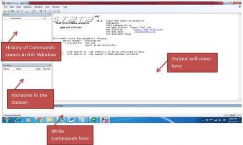 Introducing STATA and its basic interface