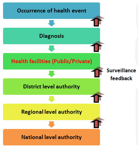 Flow of information for infectious disease management