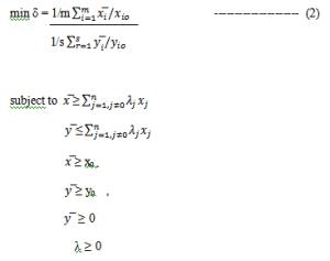 Equation for SBM model