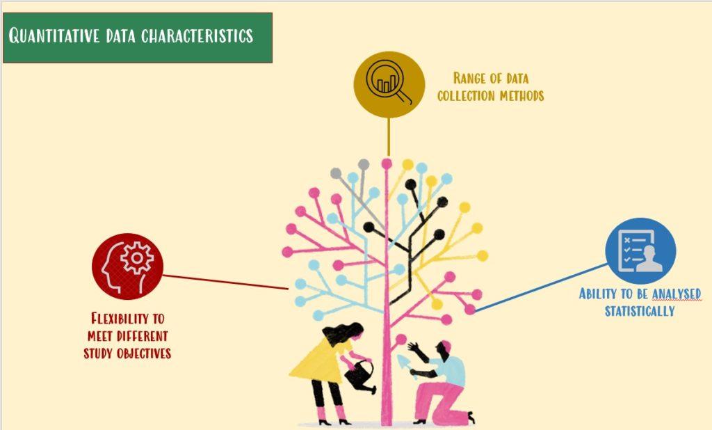 Quantitative data characteristics