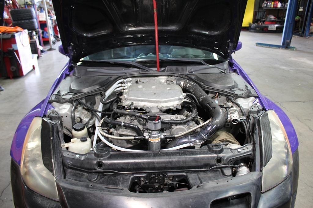 Daniels Single Turbo 2004 Nissan 350Z  ProjectImportcom