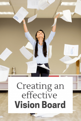 Creating an effective vision board