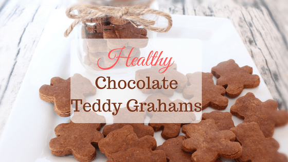 Healthy Chocolate Teddy Grahams