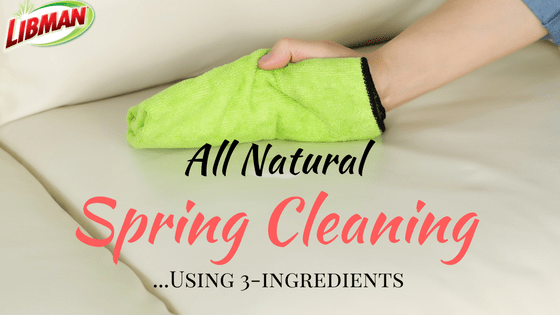 All-natural spring cleaning using 3 ingredients! + Enter to win $1,000!