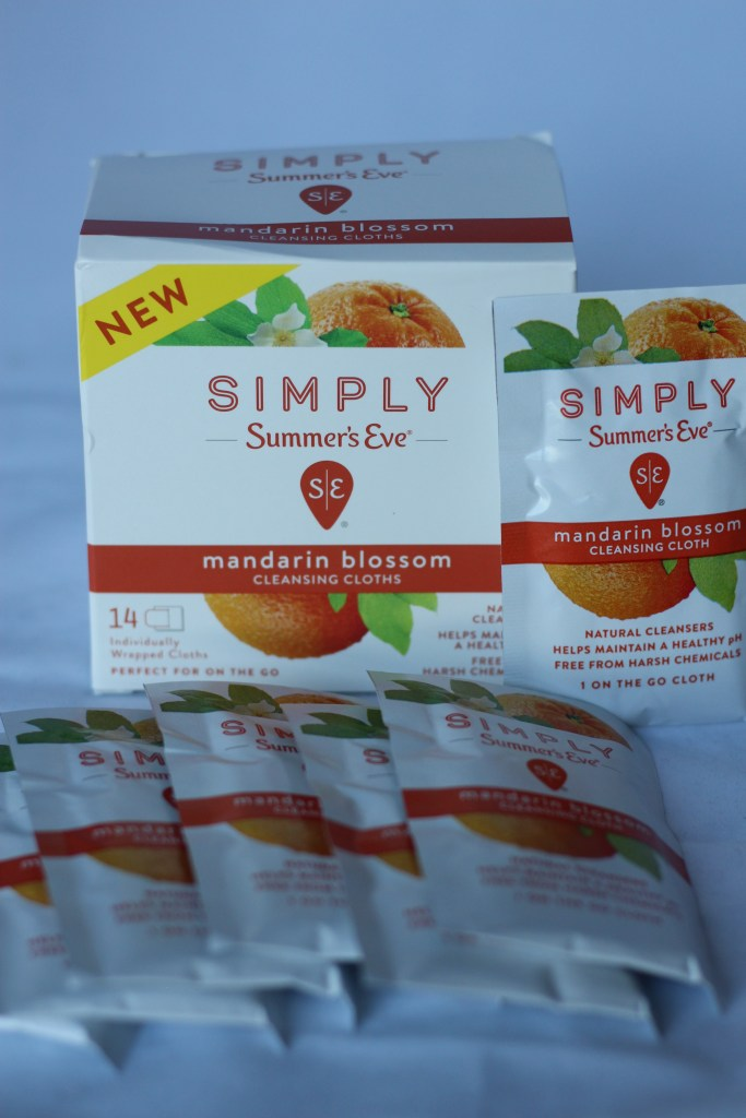 Simply summer's Eve wipes
