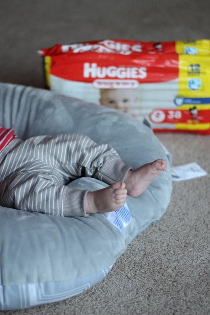 Huggies no baby unhugged