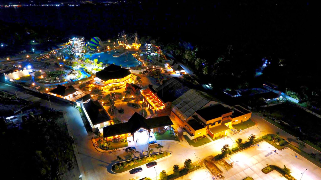 Photos Seven Seas Waterpark And Resort Aerial View At Night