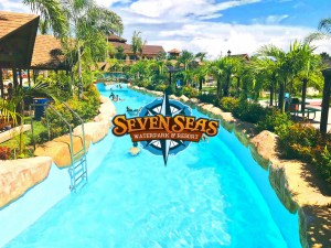 VIDEO: Opening of the First World-Class Themed Waterpark in the Philippines Seven Seas Waterpark Aerial Coverage