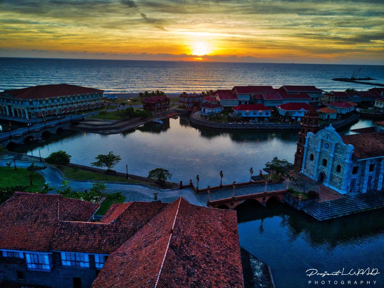 Photos Las Casas Filipinas De Acuzar Aerial View