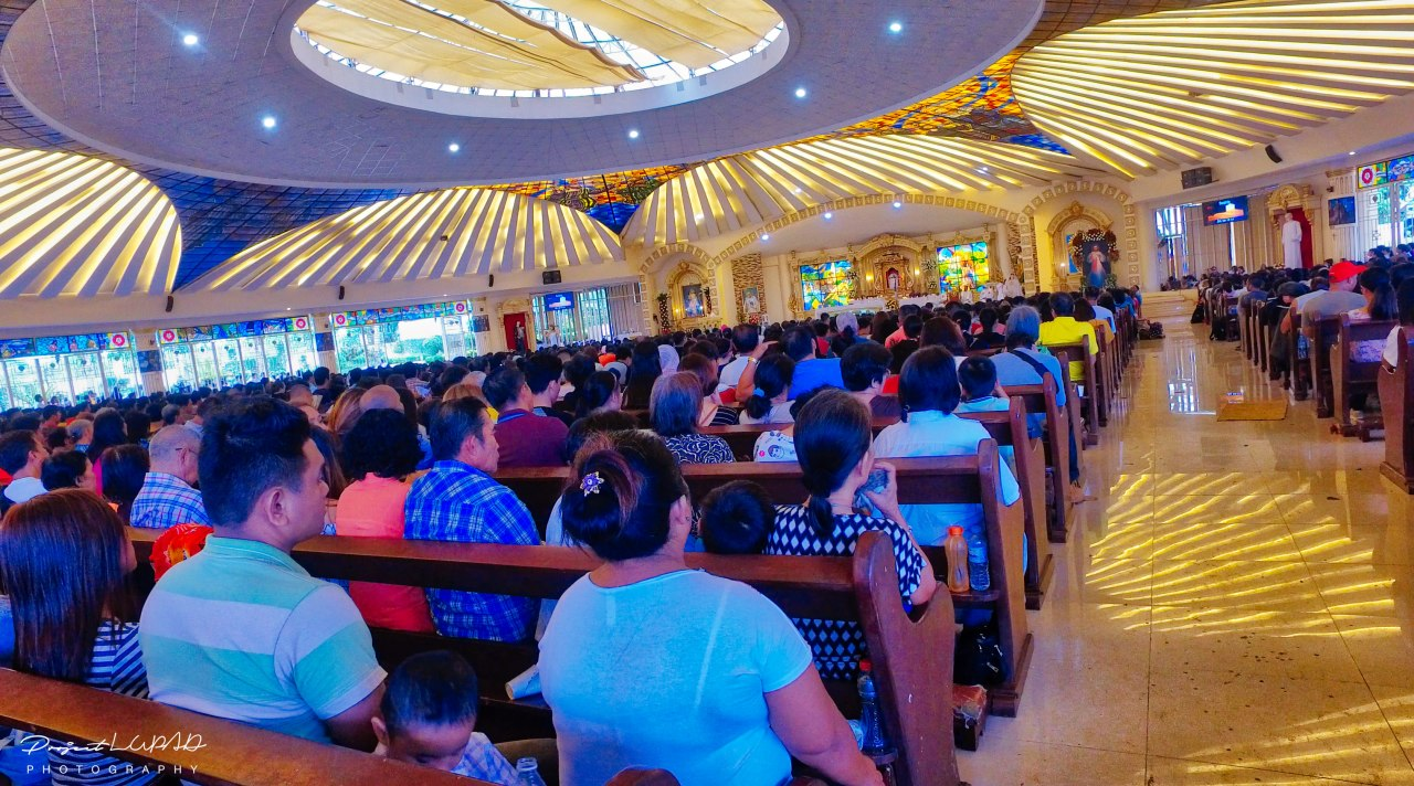 Feast of the Divine Mercy Holy Mass inside the Church throughout the day.