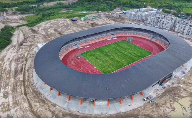 New Clark City Athletic Stadium As Of July 2019