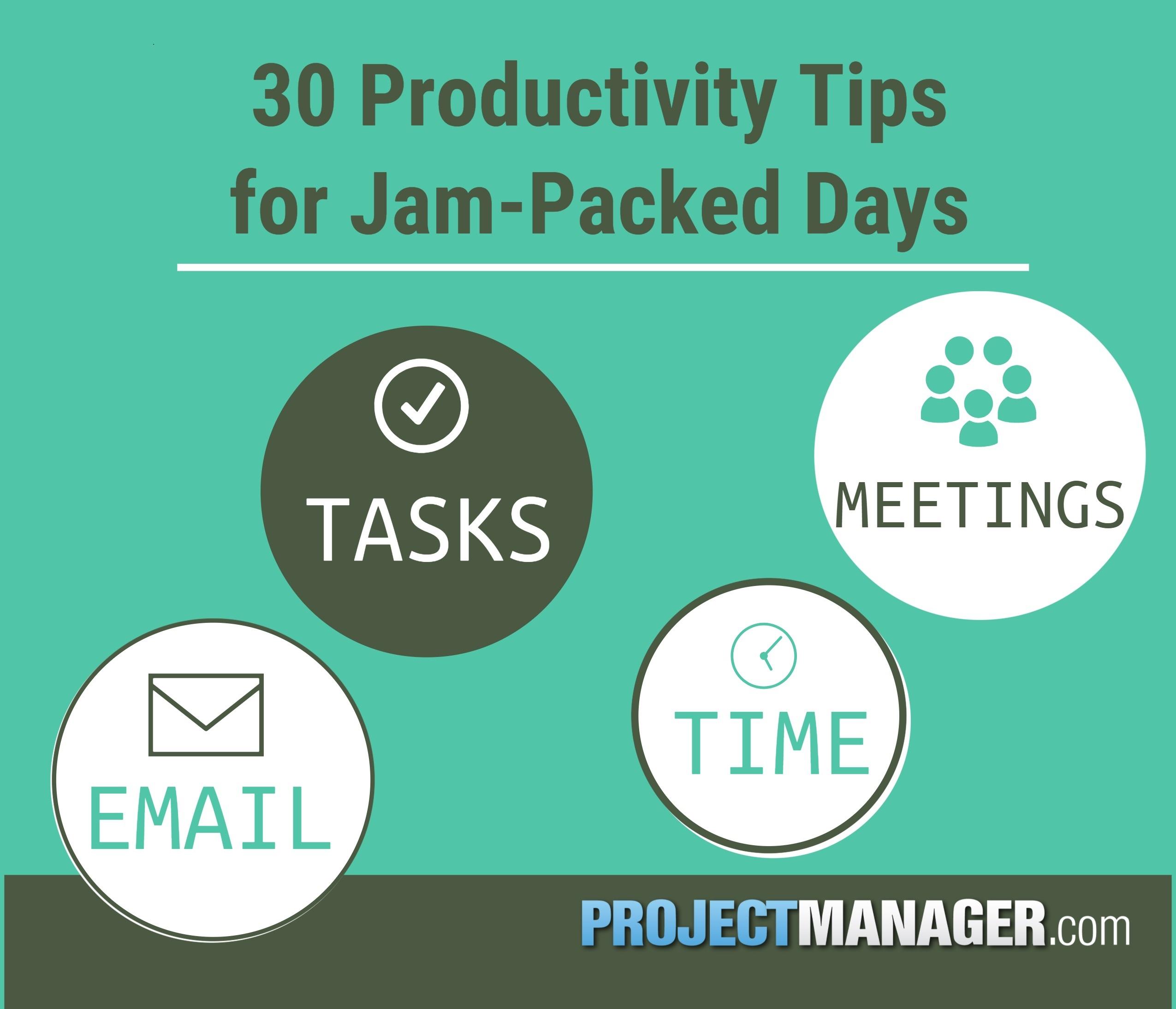 los 30 mejores consejos de productividad para cada día