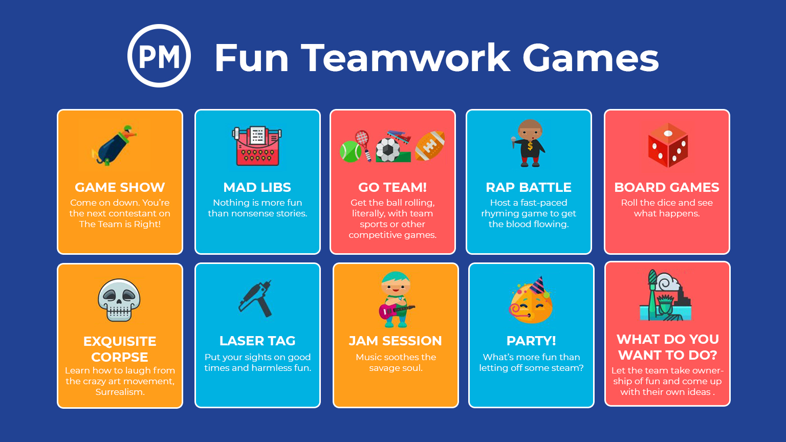 10 Super Fun Team Bonding Games
