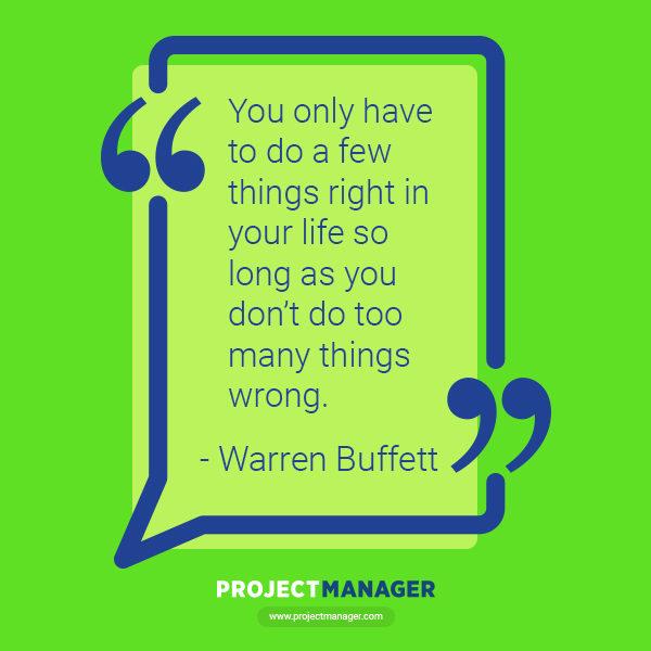 Cita comercial de Warren Buffett