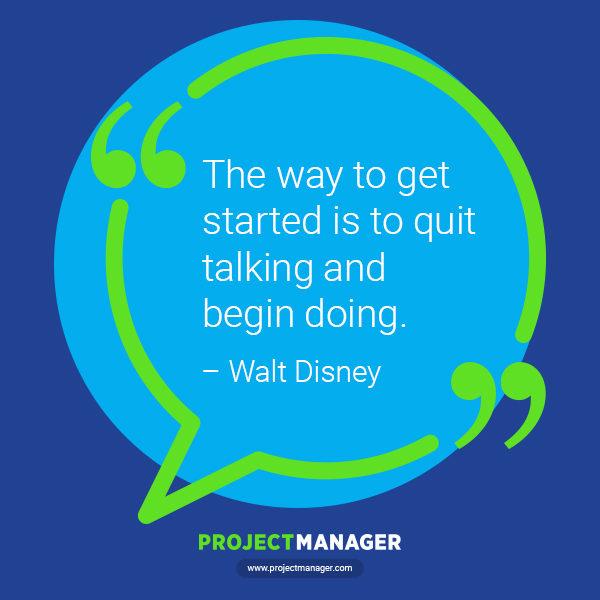 Cita comercial de Walt Disney