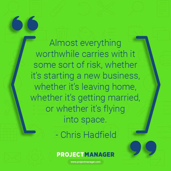 Cita de negocios de Chris Hadfield