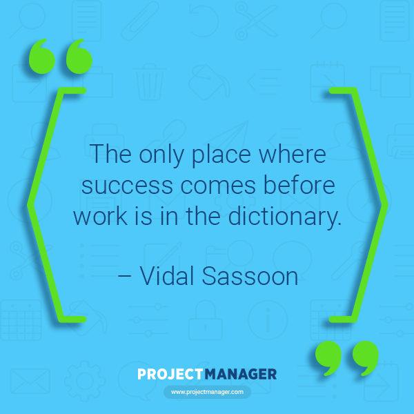 Cita comercial de Vidal Sassoon