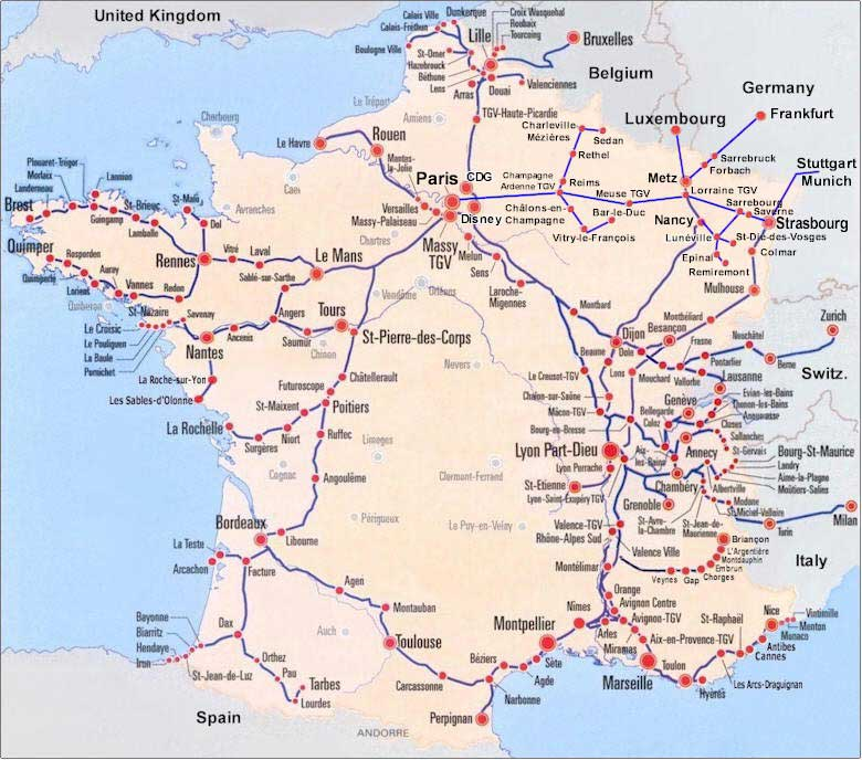 map of france train routes