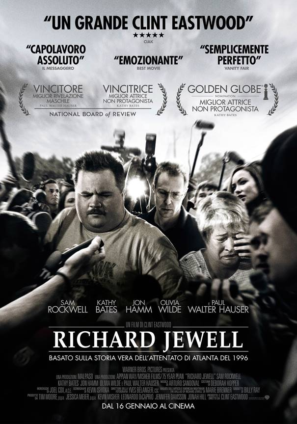RICHARD JEWELL: Online il poster ufficiale