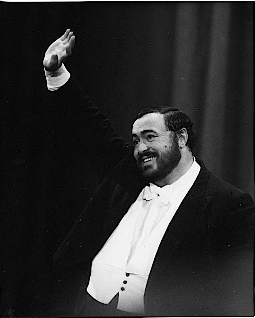 In arrivo una stella nella Walk of Fame per Luciano Pavarotti