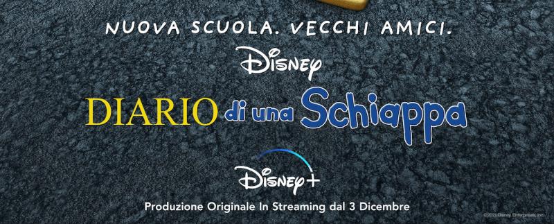 DISNEY+ : Diario di una schiappa – Dal 3 dicembre il nuovo film animato