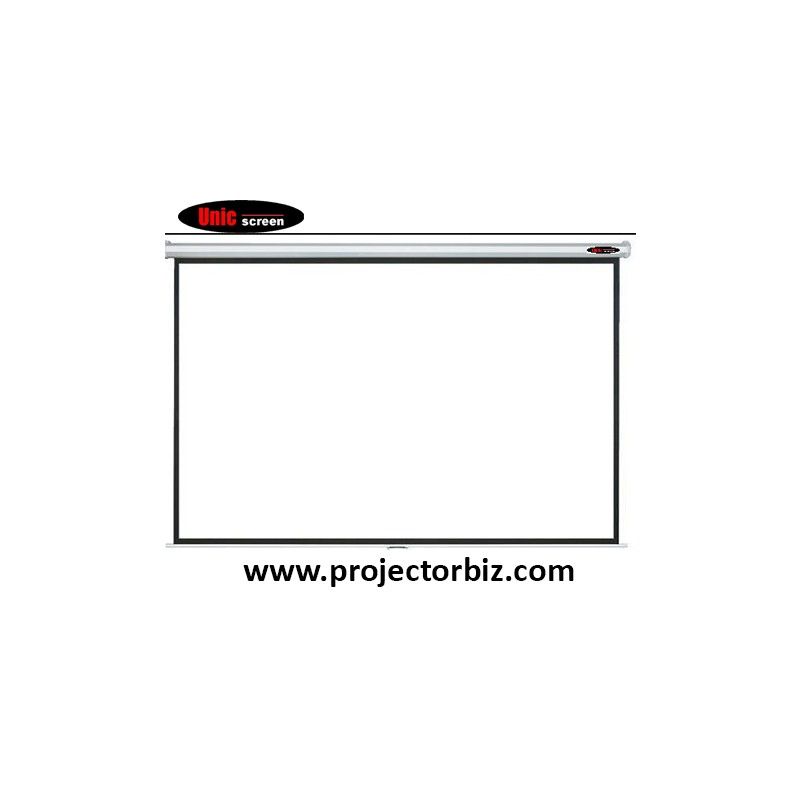 Unic Manual Wall Screen Projector Screen 92
