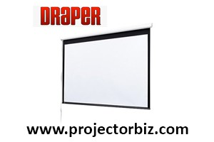 Draper Electric Baronet Projector Screen 7' x 7'