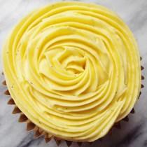 Vanilla Saffron Cupcakes