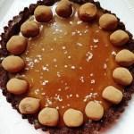 Chocolate Fleur De Sel Caramel Tart