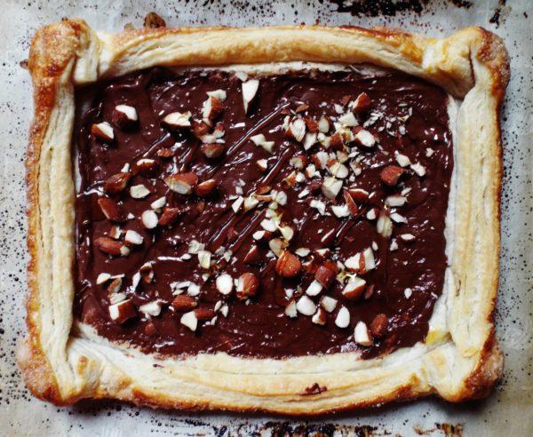 Chocolate Almond Tart With Fleur De Sel