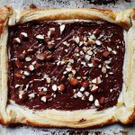 Chocolate Almond Tart with Fleur De Sel