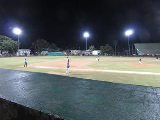 night baseball palau