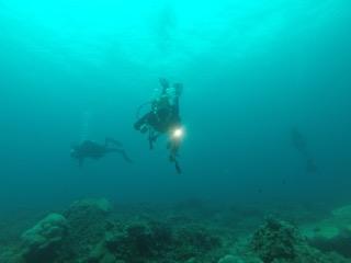 diving the Jake warbird in palau with bentprop.org