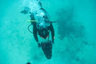 diving the navigator ocean floor in palau with bentprop