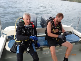 getting ready to dive in palau with bentprop.org