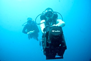 The Navigator sonar is crucial in helping find missing wwii aircraft in palau with bentprop.org