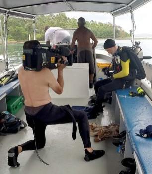 anderson cooper and 60 minutes filming bentprop palau