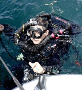 Bill Belcher Diver