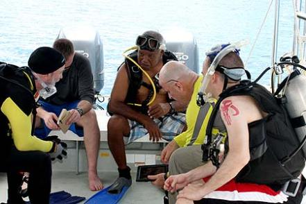dive planning on board palau