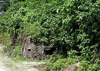 Defensive position from the pacific war, palau