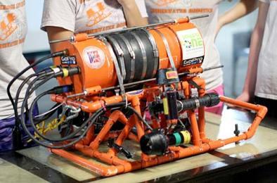 underwater ROV built by stockbridge students