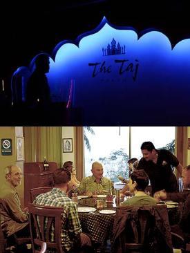 the Taj restaurant palau