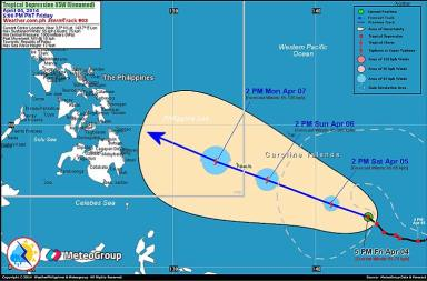 typhoon track april 2014