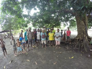 Project Recover meets with local Papua New Guinea elders.