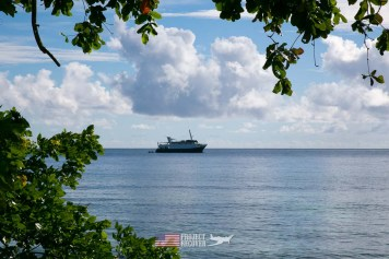 The Taka scuba diving ship we used during Solomons MIA Search - Project Recover and BentProp Project are committed to bringing the MIA home. Photos by Harry Parker Photography.com