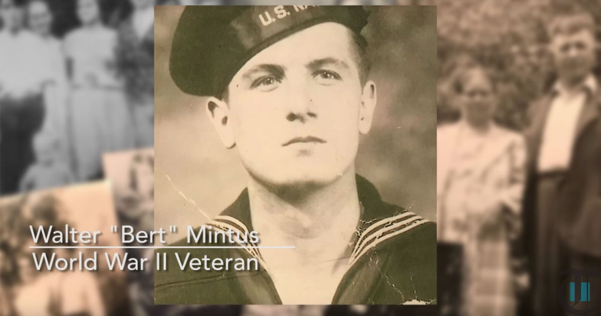 ARM3c Walter Mintus, a VT-51 radioman from WWII found by Project Recover