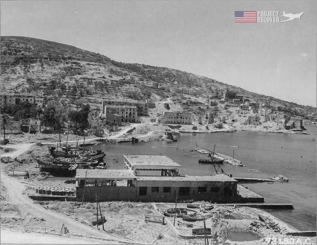 A wide view of Porto Santo Stefano harbor during WWII. Photo courtesy of Centro Studi Don Pietro Fanciulli. - Project Recover is committed to bringing the MIA's home