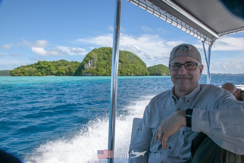 Glenn Frano is a Project Recover team member on his third mission to Palau. Glenn specializes in mapping, GIS and remote sensing.