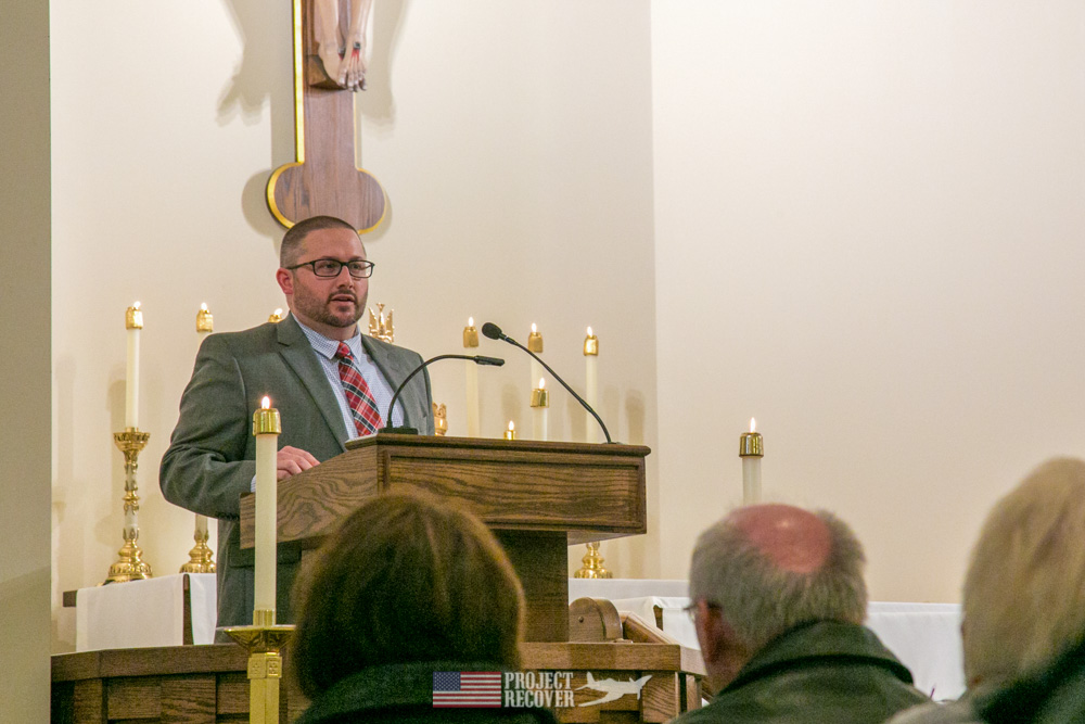 Jim Gray Speaks at Rybarczyk Memorial