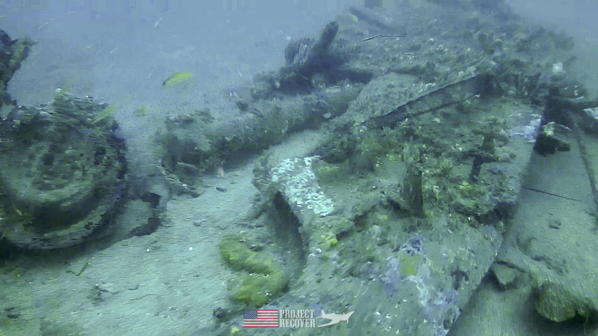 B-24 Heaven Can Wreckage